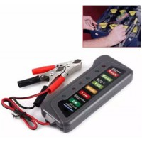 Generic 12V Digital Battery Alternator Tester 6 LED Lights Display Auto Car Diagnostic Tool For Cars Vehicle Motorcycle